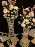 Where to rent STAND, FLOWER 42  WHITE WICKER in Morristown NJ