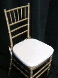 Where to rent CHAIR, CHIAVARI, GOLD in Morristown NJ