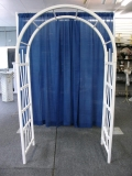Rental store for TRELLIS, WEDDING WHITE PLASTIC in Morristown NJ