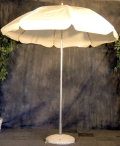 Where to rent UMBRELLA, 7 FT.  WHITE in Morristown NJ