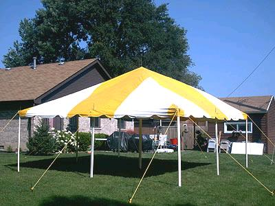 Where to find CANOPY, 20 X 20 YELLOW WHITE in Morristown
