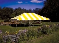 Rental store for CANOPY, 20 X 30 YELLOW WHITE in Morristown NJ