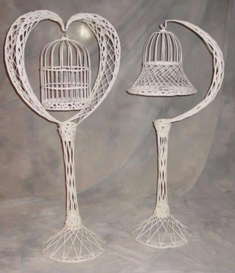 Where to find BIRD CAGE, WHITE WICKER in Morristown