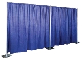 Where to rent PIPE   DRAPE, 8FT HI, SELF SET UP in Morristown NJ