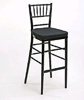 Where to rent CHAIR,CHIAVARI BARSTOOL BLACK in Morris Plains NJ, Cedar Knolls, Madison NJ, Morristown and Mendham NJ