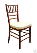 Where to rent CHAIR, CHIAVARI, FRUITWOOD in Morristown NJ
