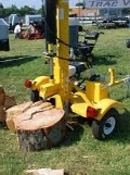 Where to rent LOG SPLITTER, POWER TEC 23TON in Morristown NJ