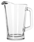 Where to rent PITCHER, GLASS, 60OZ in Morristown NJ