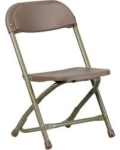 Where to rent CHAIR, CHILD, BROWN FOLDING in Morristown NJ