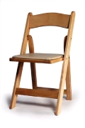 Where to rent CHAIR, NATURAL WOOD in Morristown NJ