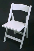 Where to rent CHAIR, WHITE WOOD in Morristown NJ