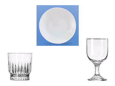 China and glassware rentals in Morris Plains New Jersey, Cedar Knolls, Madison NJ, Morristown NJ